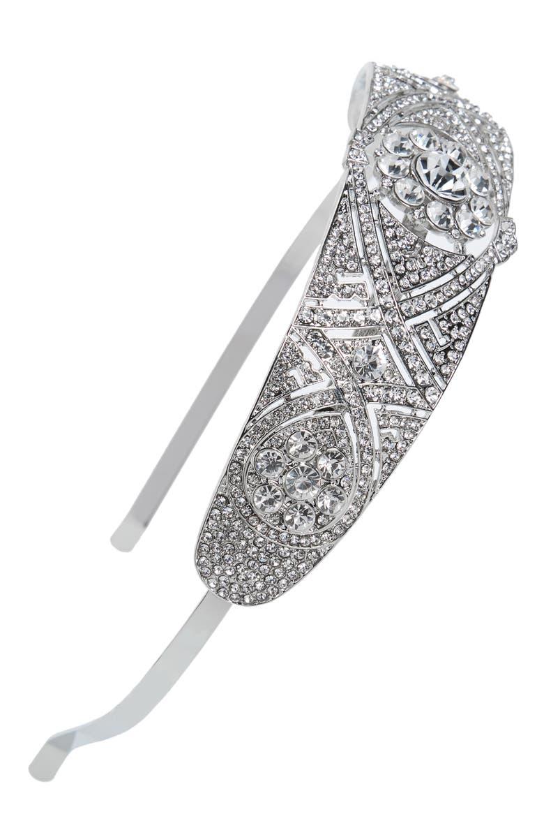 TASHA Royal Crystal Headband, Main, color, 044