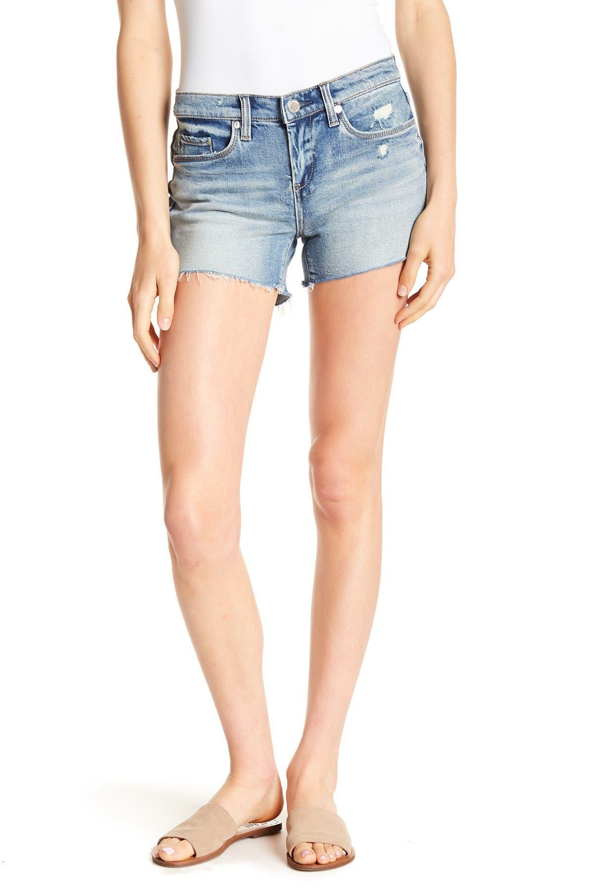 Image of BLANKNYC Denim Distressed Cut-Off Denim Shorts