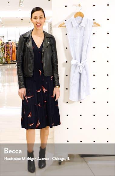 Margo Striped Shirtdress, sales video thumbnail