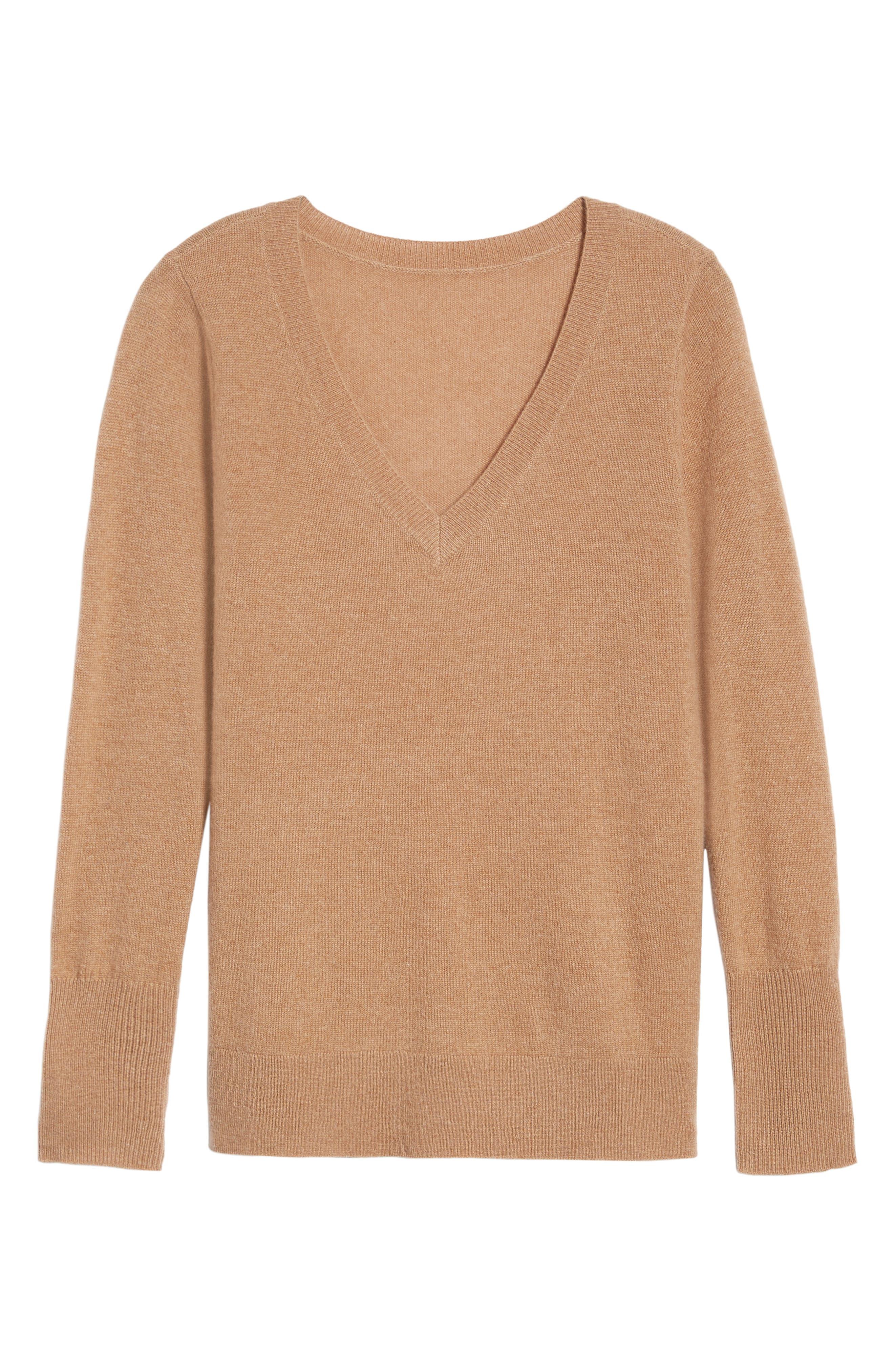 ,                             V-Neck Cashmere Sweater,                             Alternate thumbnail 29, color,                             235