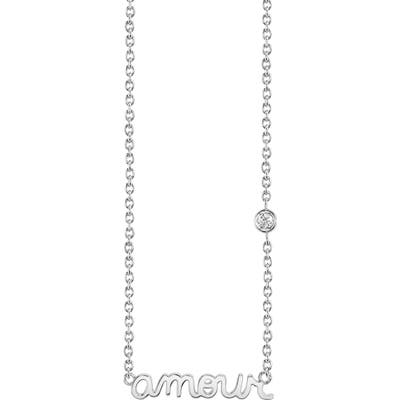 Syd By Sydney Evan Amour Pendant Necklace