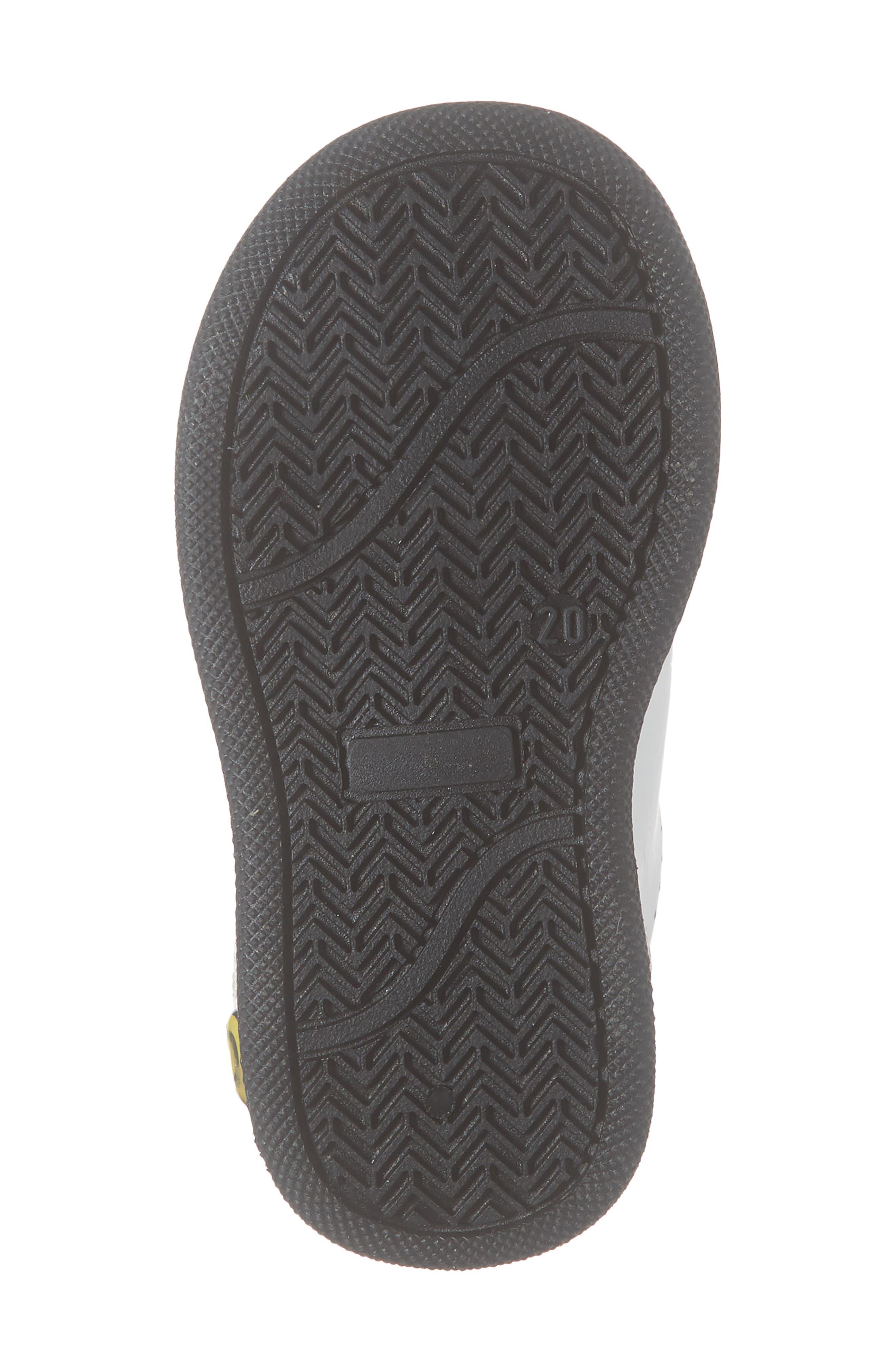 ,                             Ball Star Glitter Sneaker,                             Alternate thumbnail 6, color,                             WHITE LEATHER/ PURPLE GLITTER
