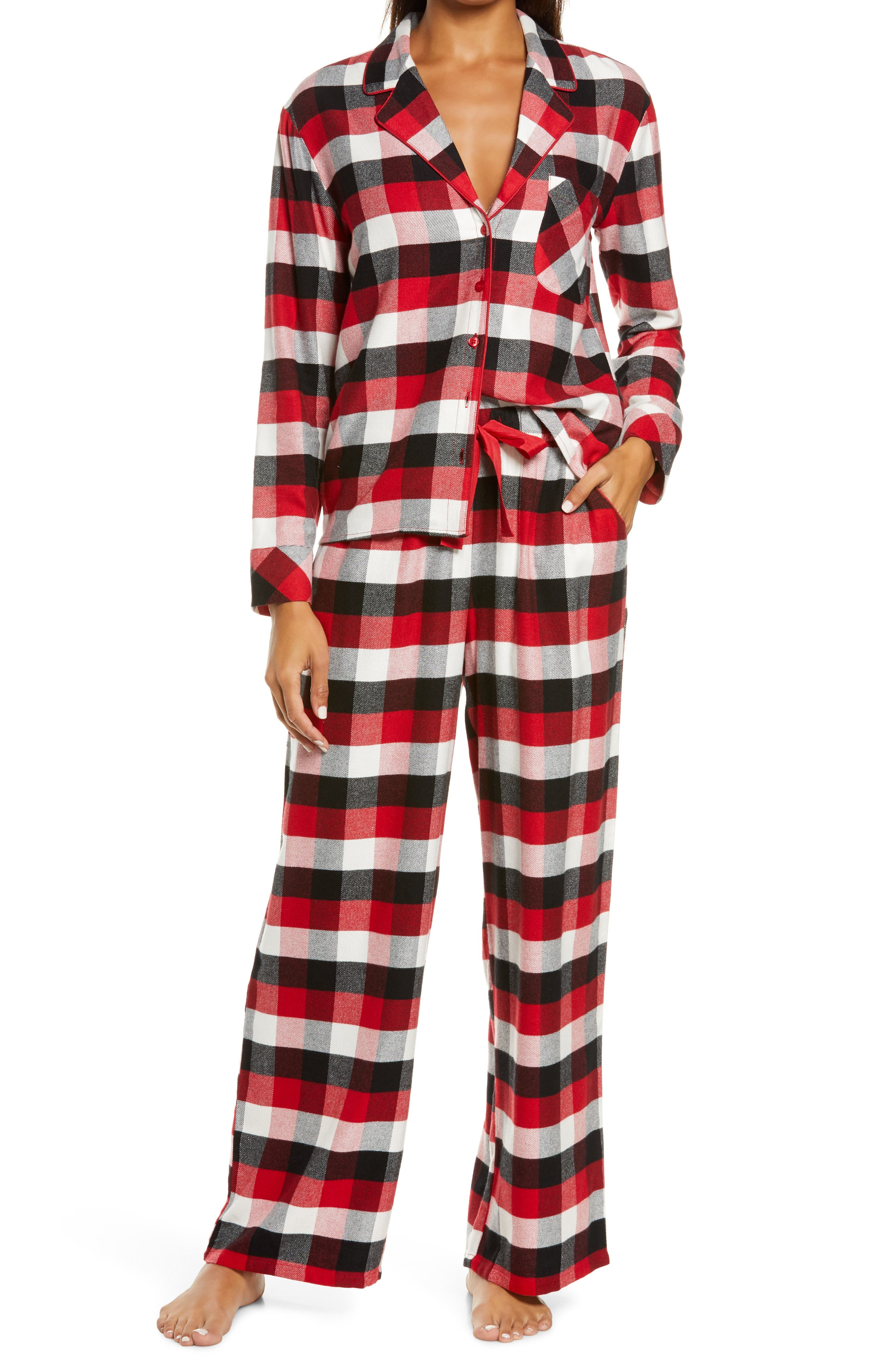 Image of Nordstrom Flannel Pajamas