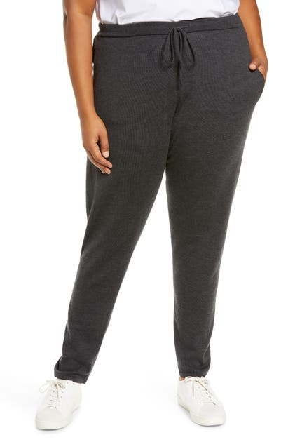 Eileen Fisher MERINO WOOL JOGGERS