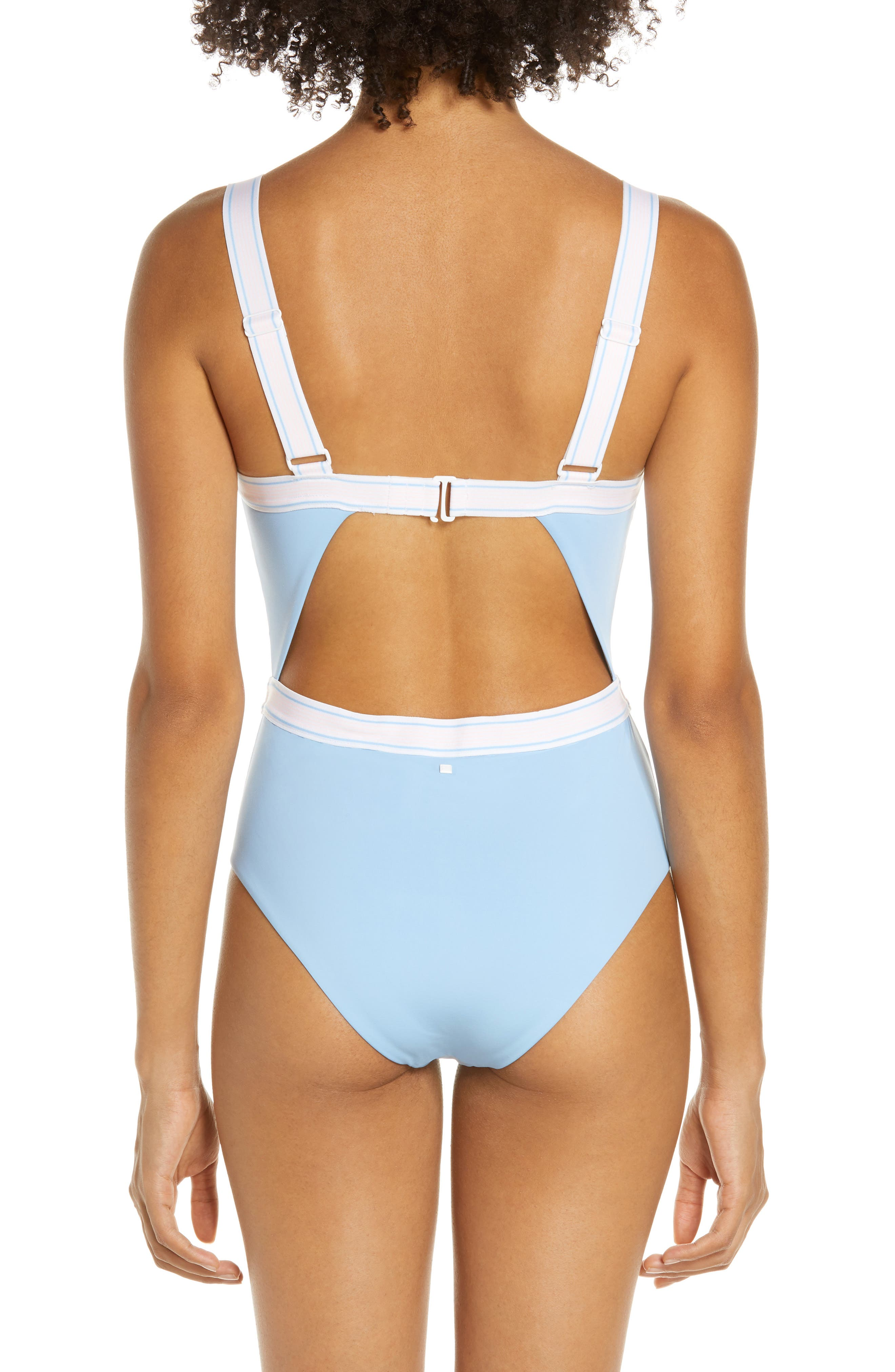 ,                             Fast Lane One-Piece Swimsuit,                             Alternate thumbnail 2, color,                             BIG SKY