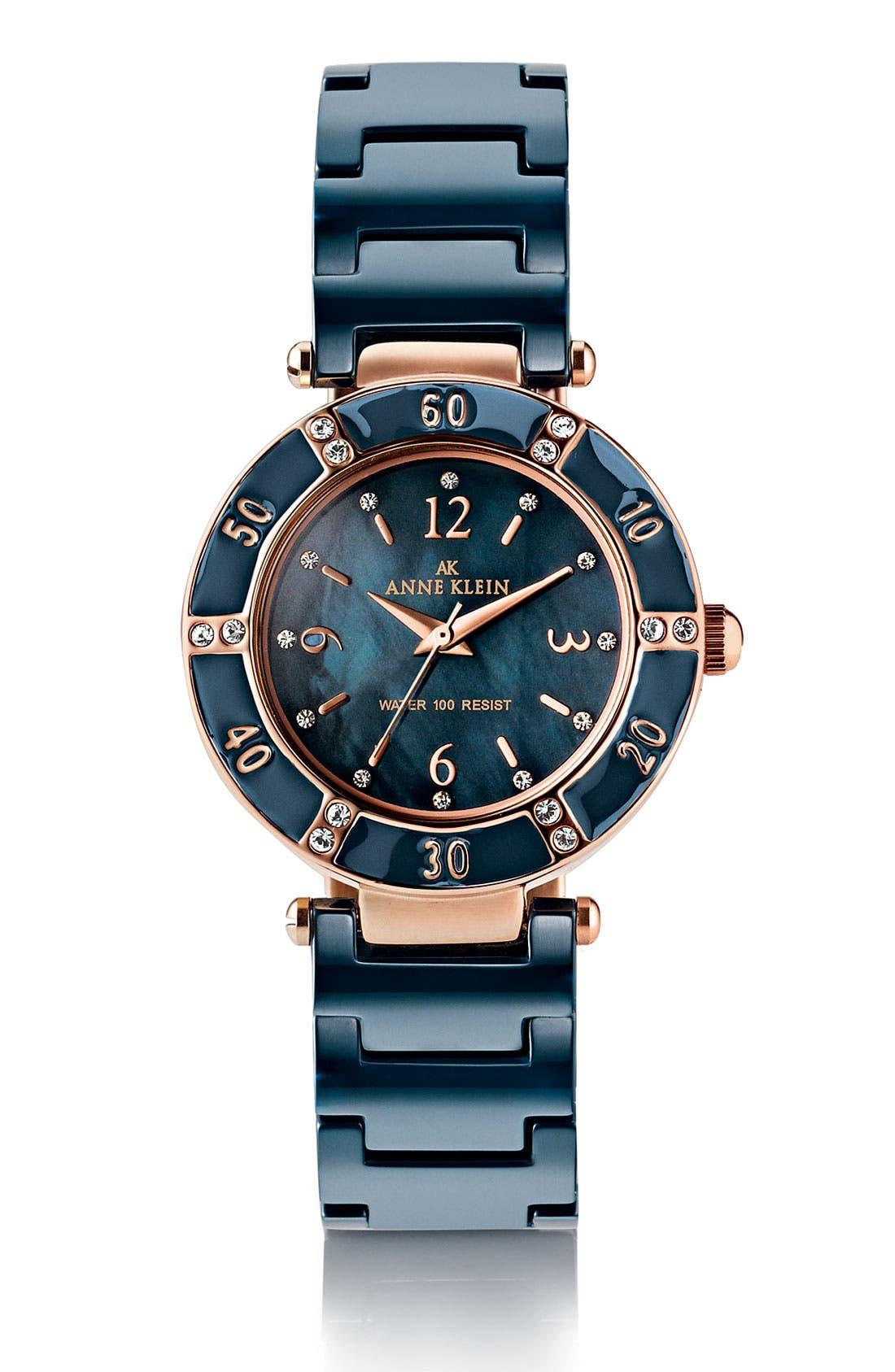 ,                             Round Ceramic Bracelet Watch, 31mm,                             Alternate thumbnail 15, color,                             400