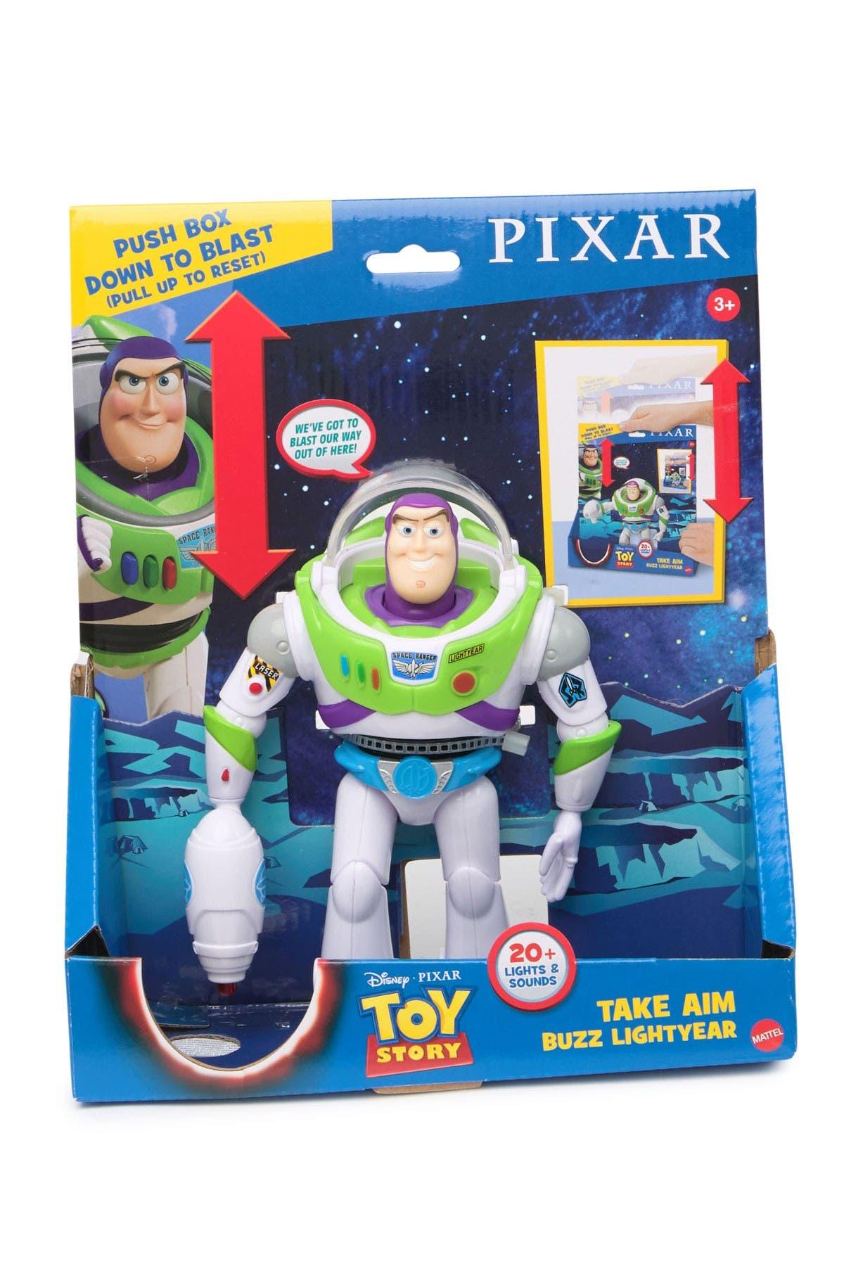 Image of Mattel Disney Pixar Toy Story Launching Lasso Woody