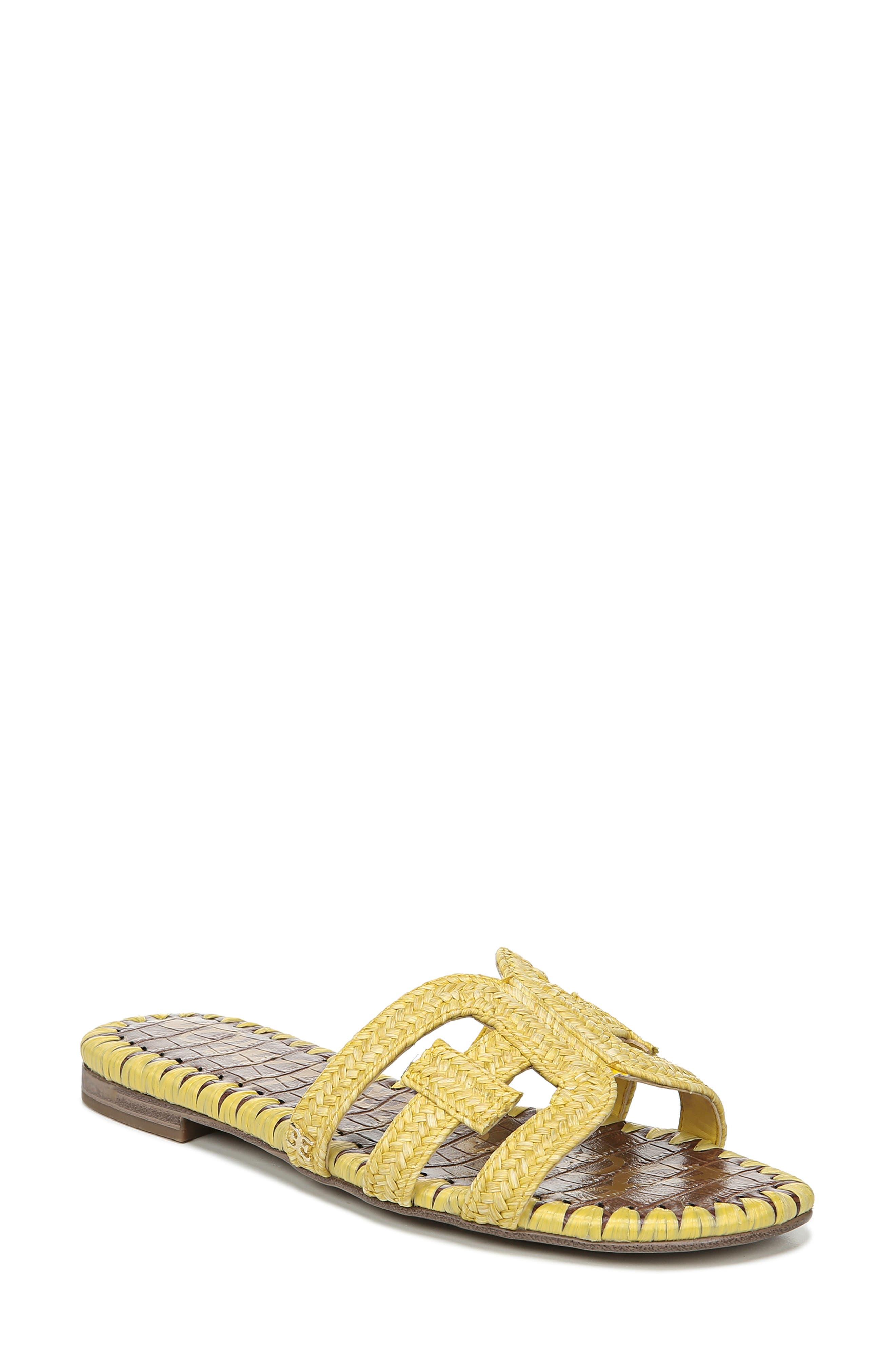 Sam Edelman Beckie Slide Sandal- Yellow