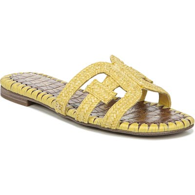 Sam Edelman Beckie Slide Sandal- Yellow
