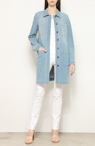 Corinthia Longline Denim Jacket, video thumbnail