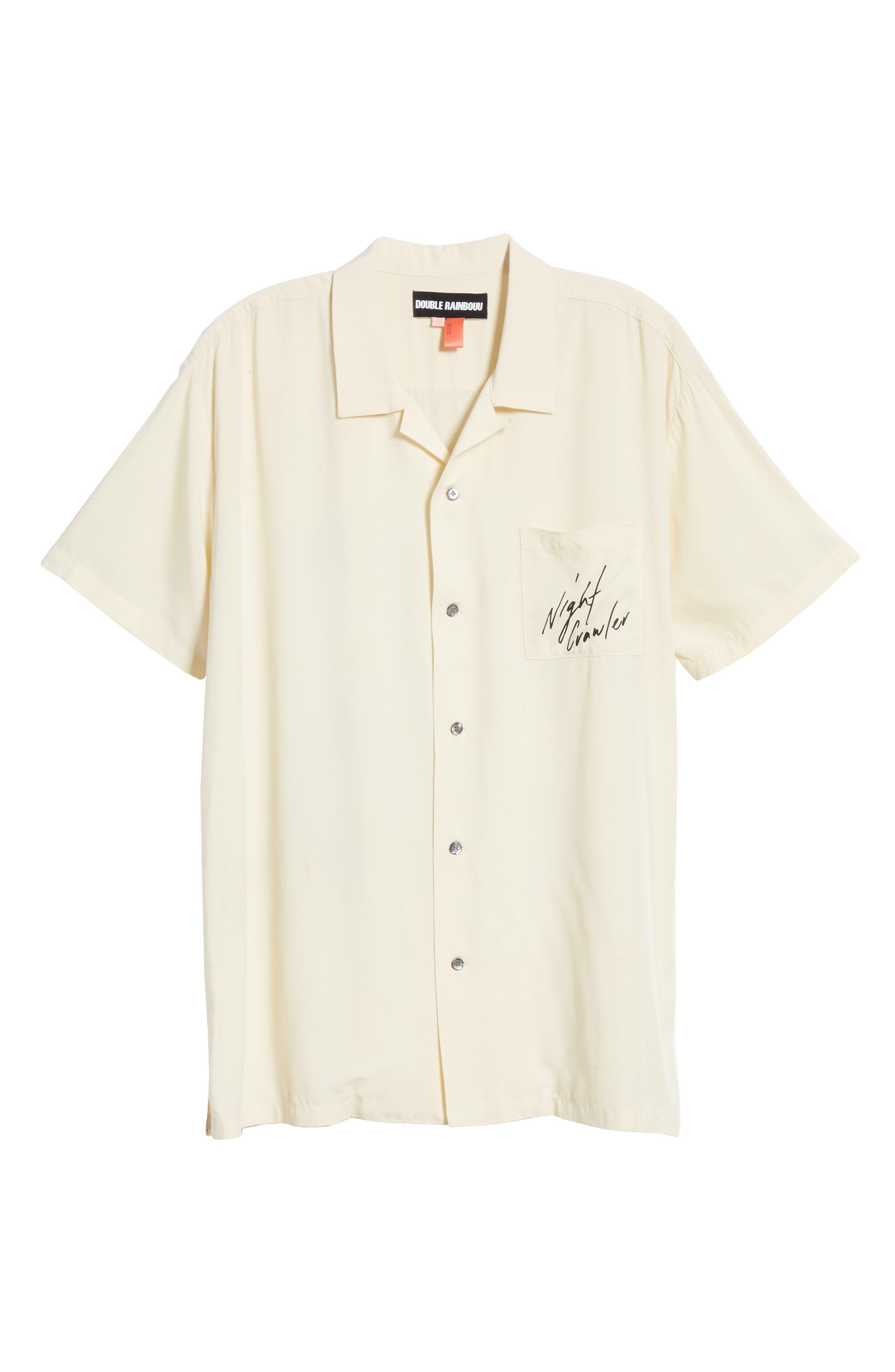 ,                             White Tiger Camp Shirt,                             Alternate thumbnail 6, color,                             WHITE