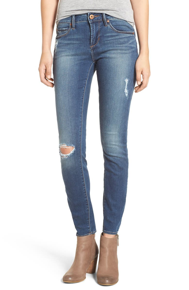 ARTICLES OF SOCIETY 'Sarah' Skinny Jeans, Main, color, 400