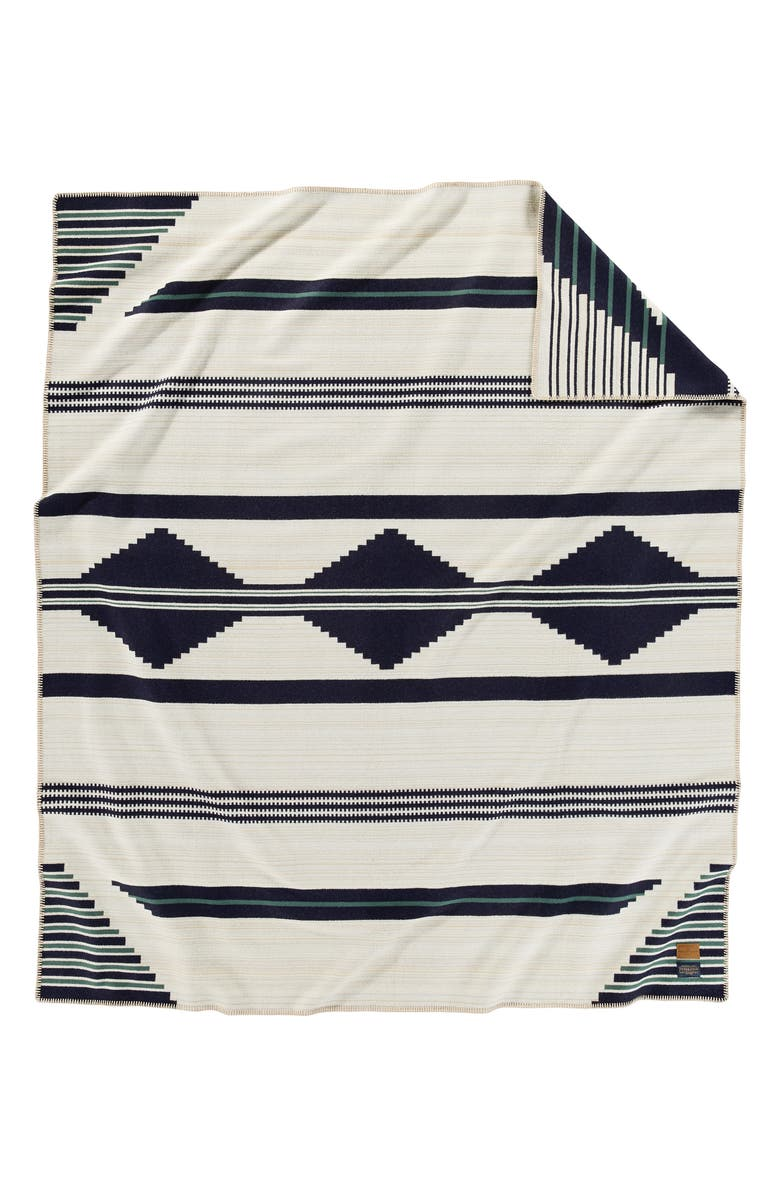 PENDLETON Preservation Series Jacquard Throw Blanket, Main, color, PRESERVATION SERIES