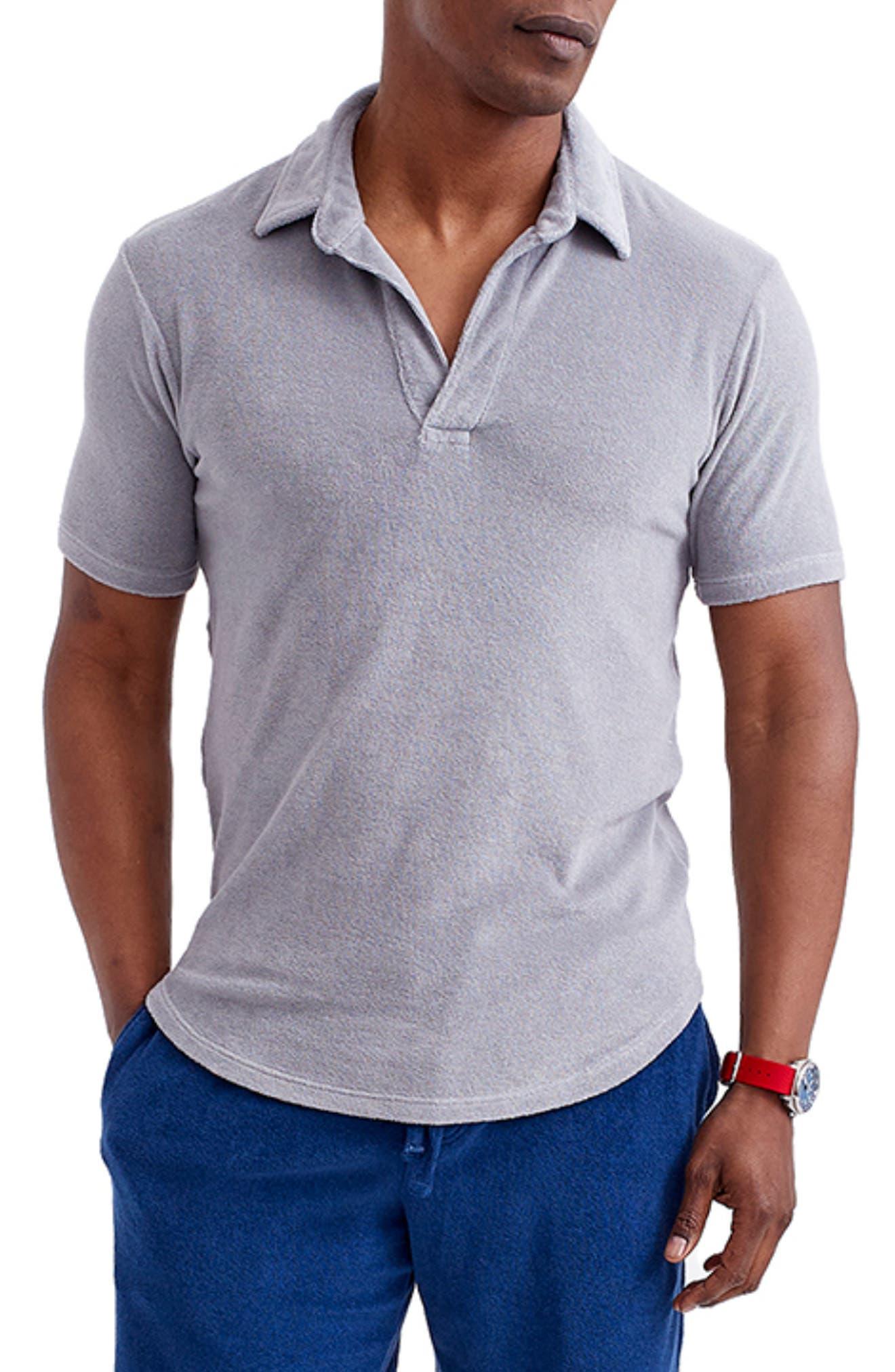 Terry Cloth Polo