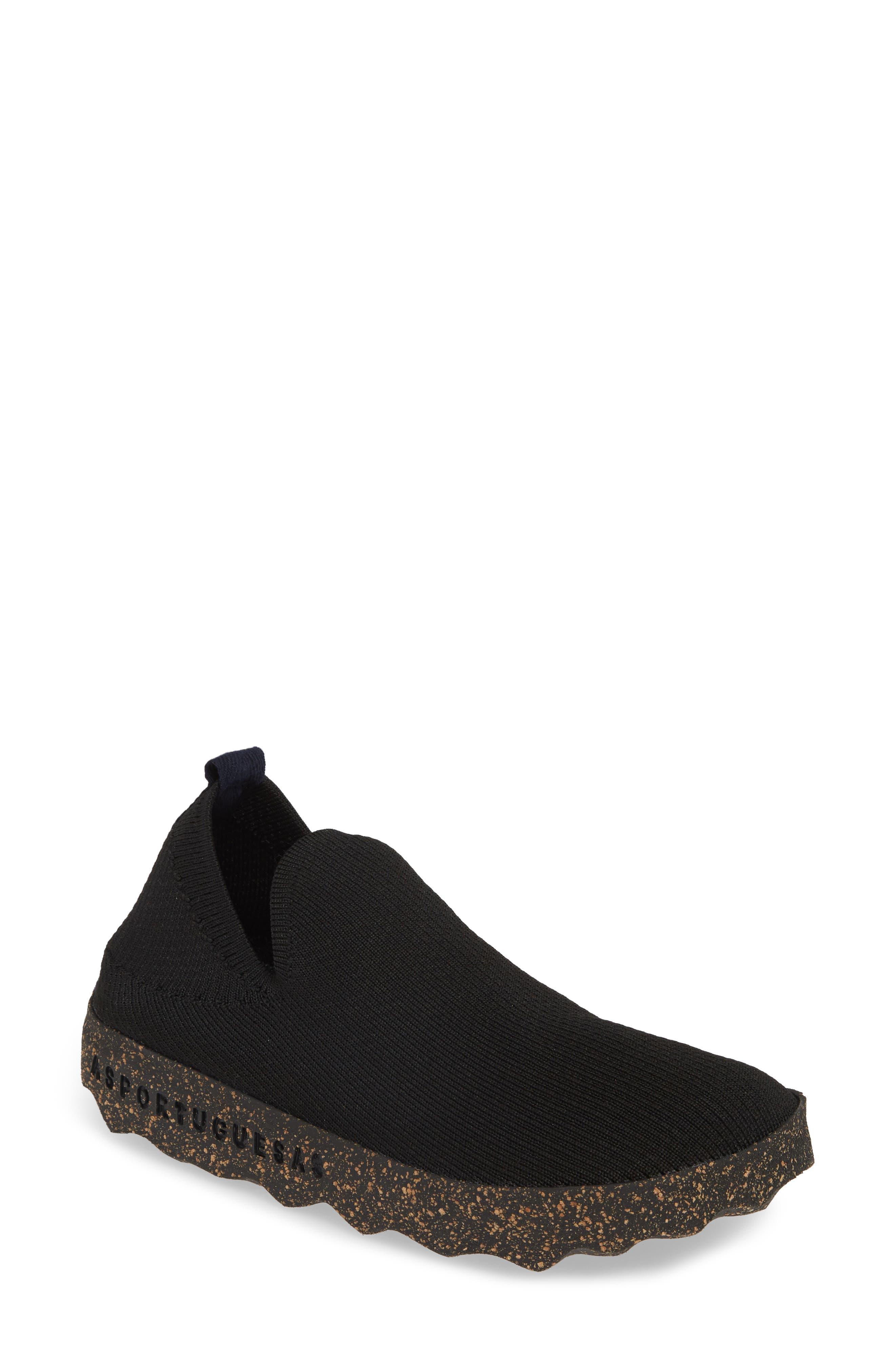 Asportuguesas By Fly London Care Sneaker, Black