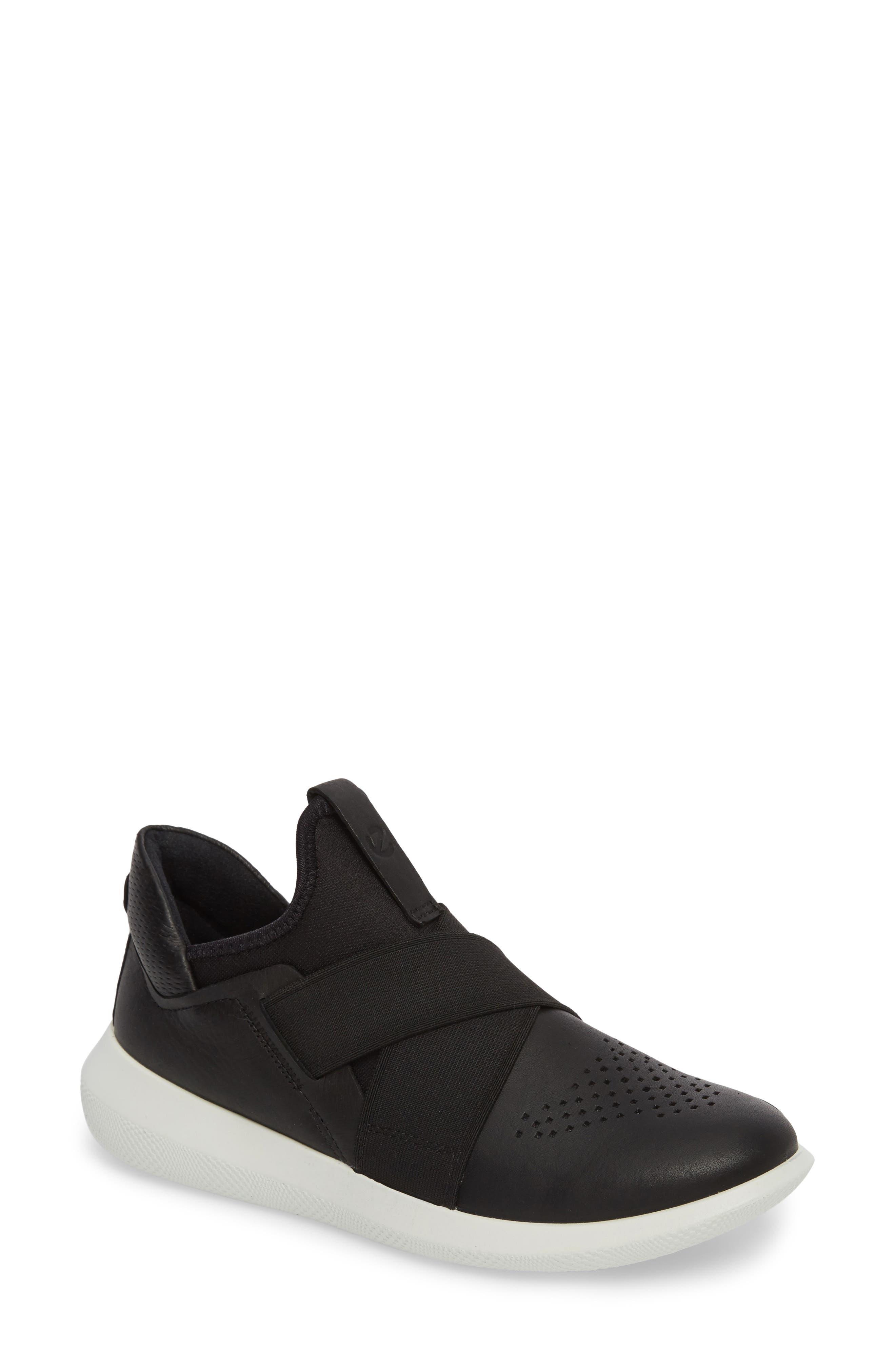 Ecco Scinapse Band Sneaker, Black