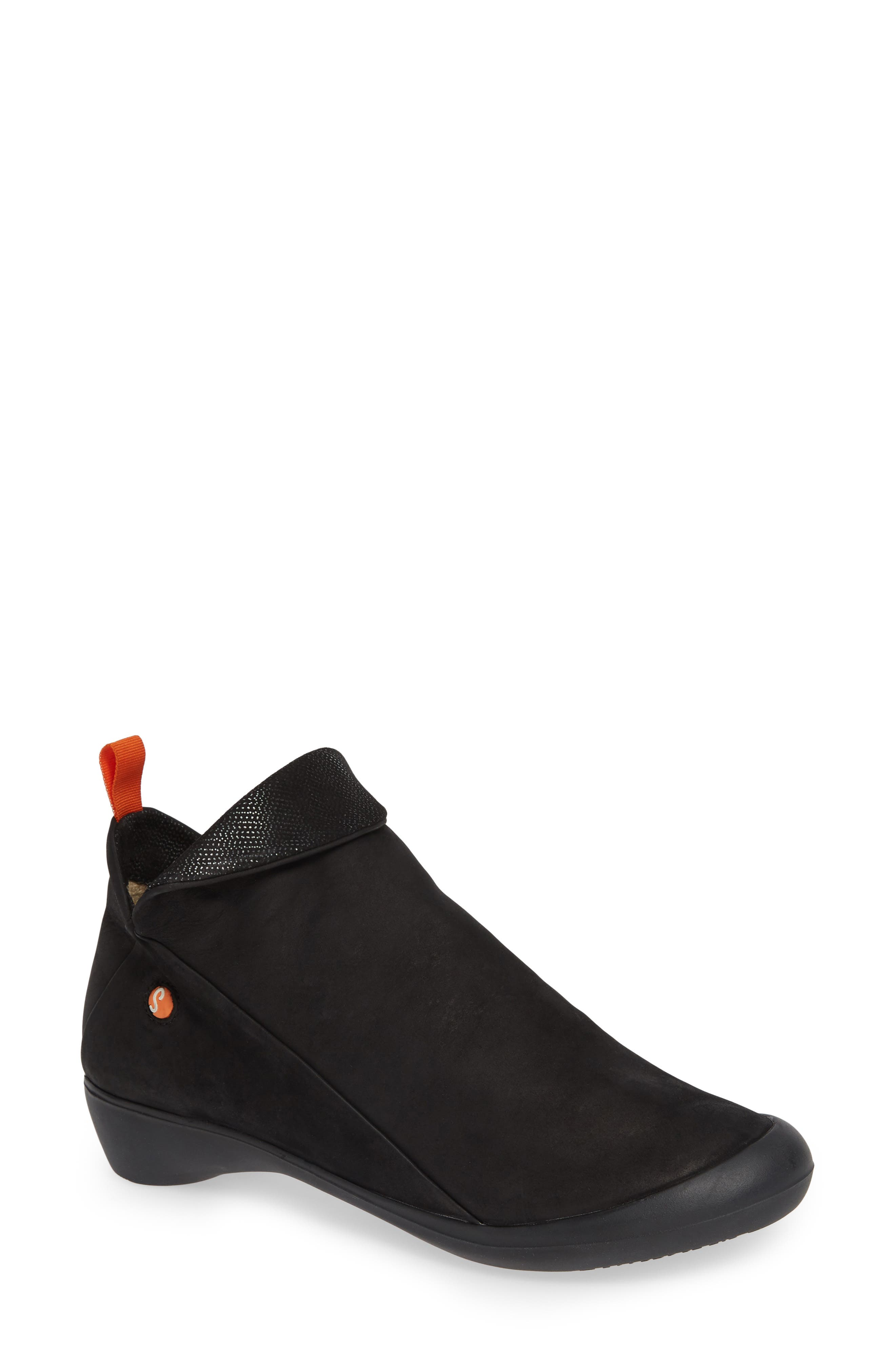 Softinos By Fly London Farah Bootie - Black