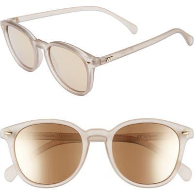 Le Specs Bandwagon 51Mm Sunglasses - Matte Stone