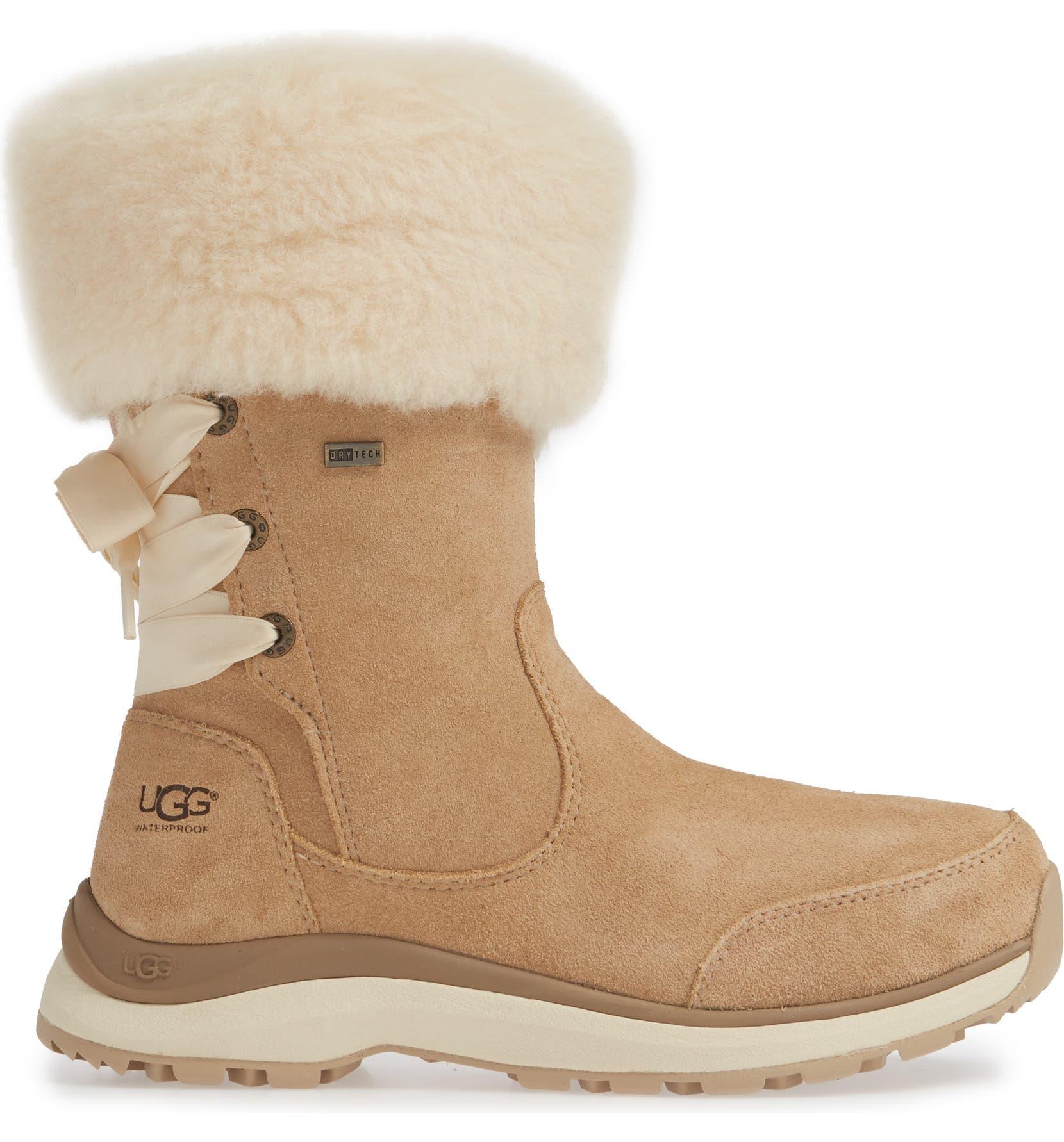 f9132d172 UGG® Ingalls Faux Fur Cuff Waterproof Bootie (Women) | Nordstrom