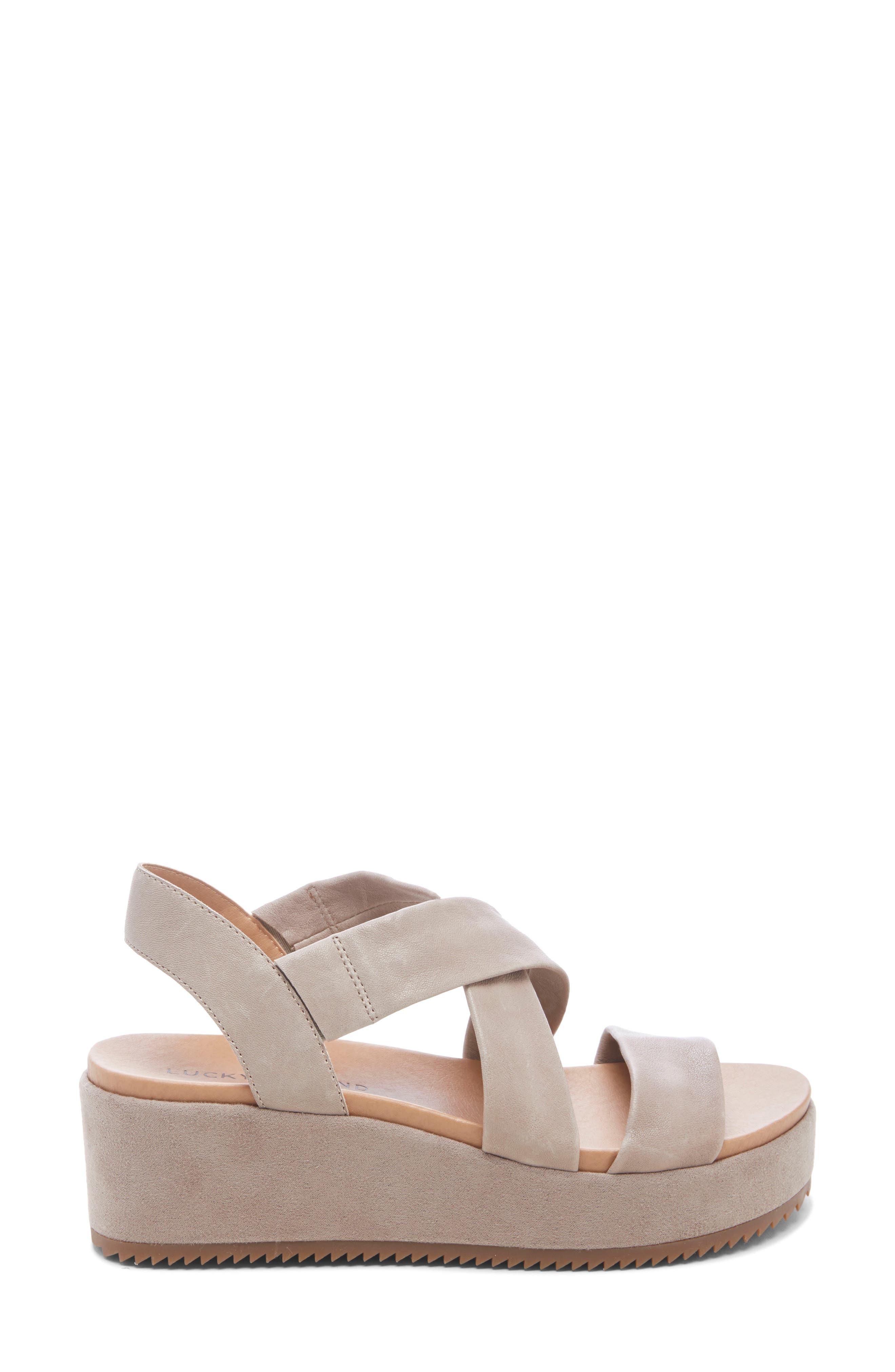 ,                             Waldyna Wedge Platform Sandal,                             Alternate thumbnail 3, color,                             060