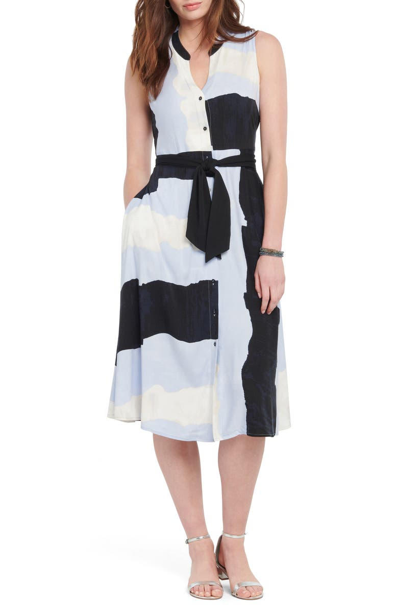 NIC+ZOE In the Clouds Shirtdress, Main, color, 400