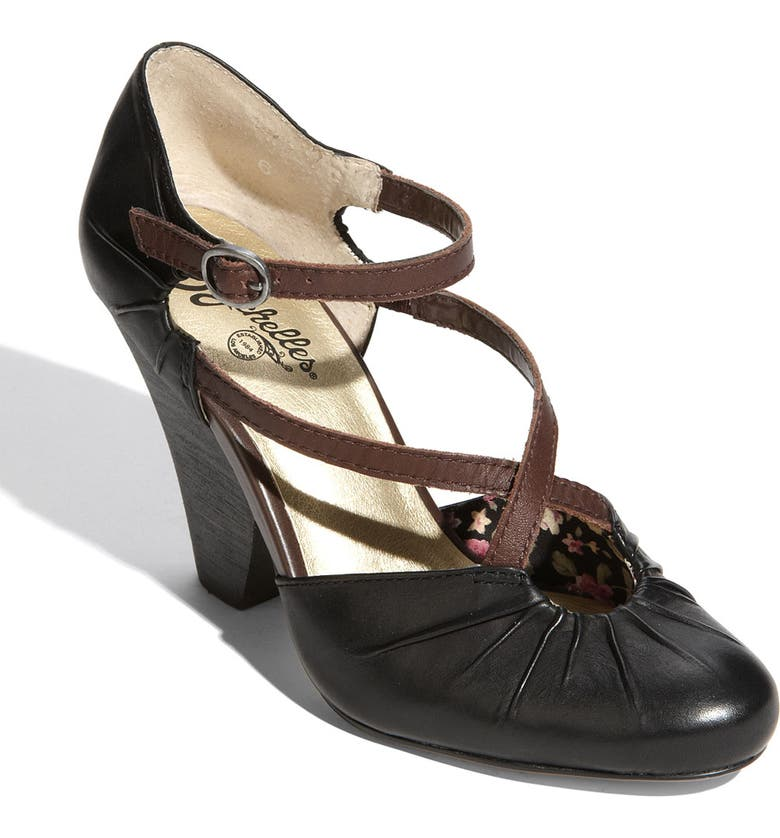 SEYCHELLES 'Dolly' Pump, Main, color, BLACK LEATHER