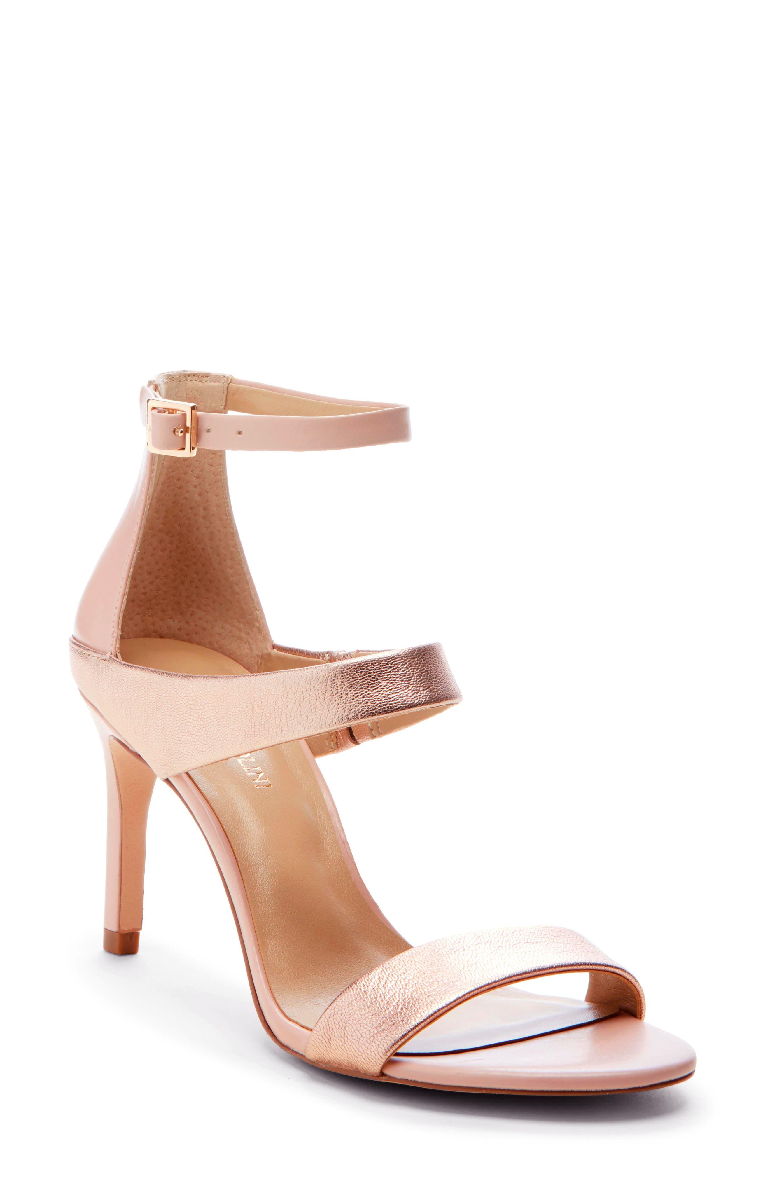 Enzo Angiolini Addalyn Strappy Sandal, Pink