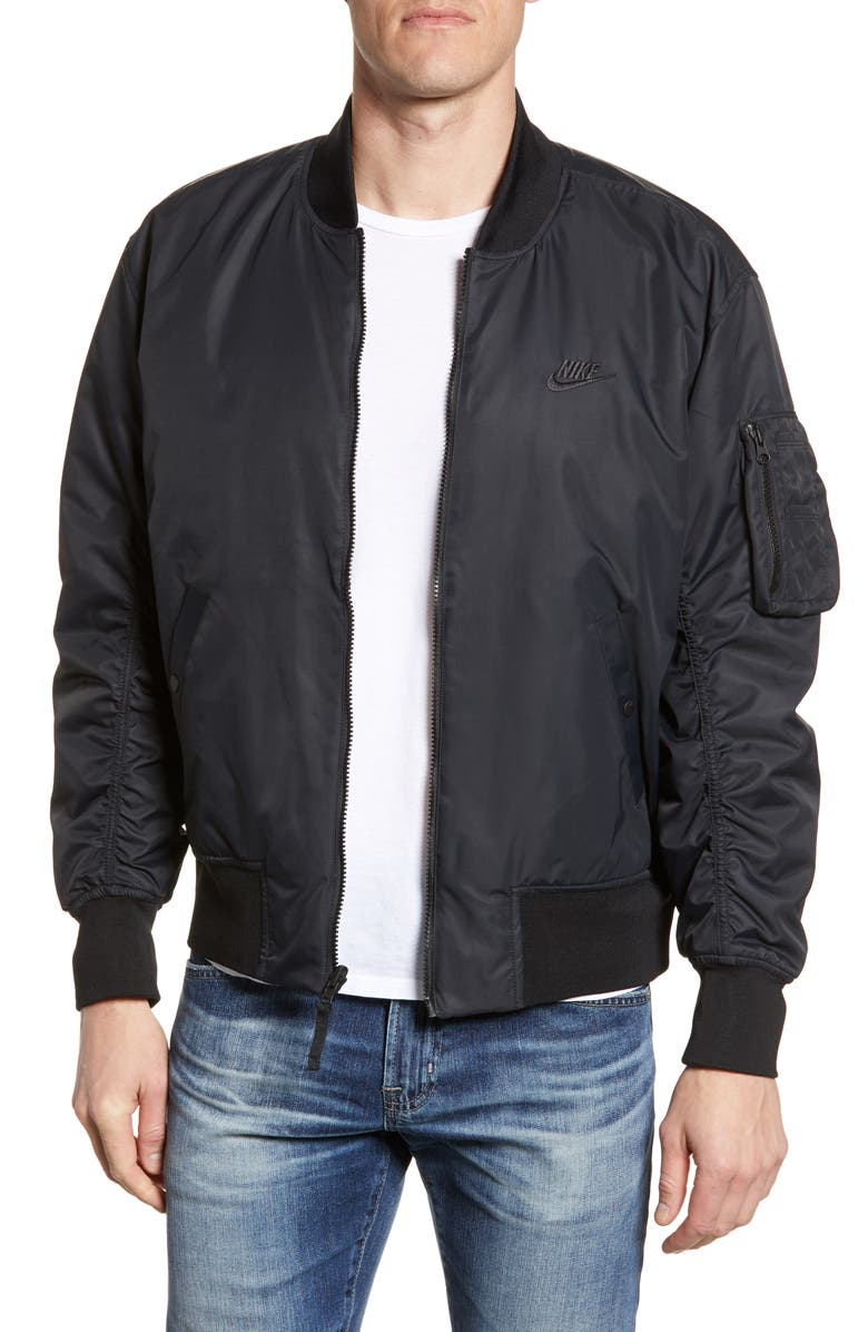 05bf9e764 Nike Sportswear Reversible Insulated Bomber Jacket | Nordstrom