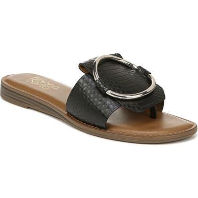 Franco Sarto Gretel Slide Sandal- Black