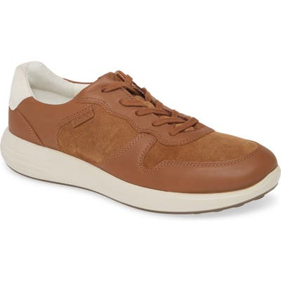 Ecco Soft 7 Runner Classic Sneaker, Brown