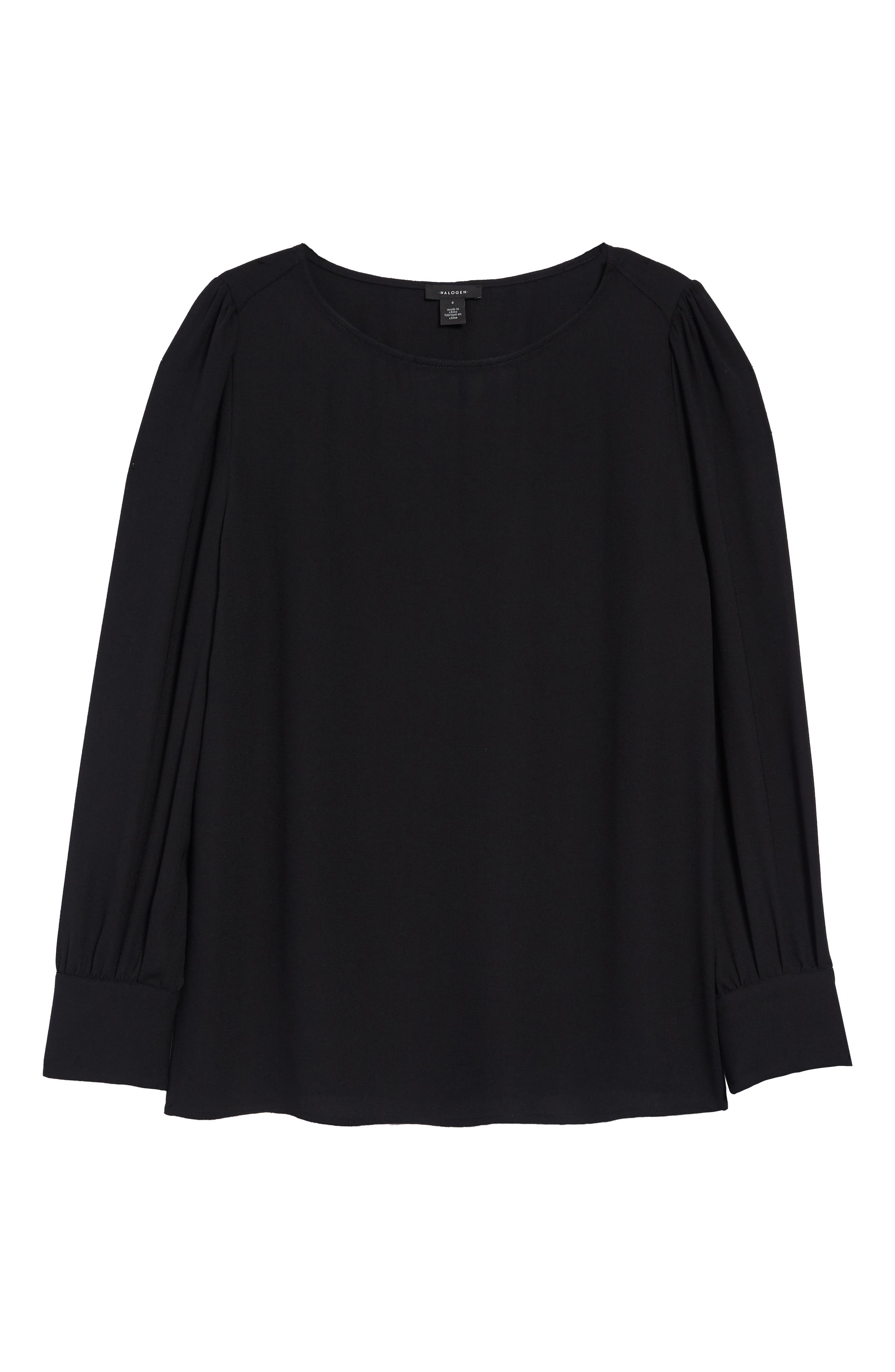 Image of Halogen ® Long Sleeve Blouse
