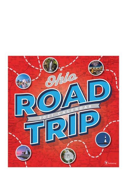 Image of TF Publishing 2021 Road Trip: Ohio Wall Calendar