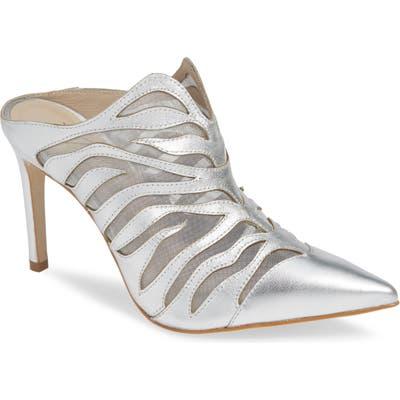 Matisse Mirror Pointy Toe Mule, Metallic
