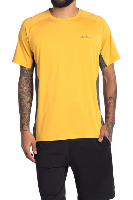 Image of Eddie Bauer Colorblocked Crew Neck Shirt