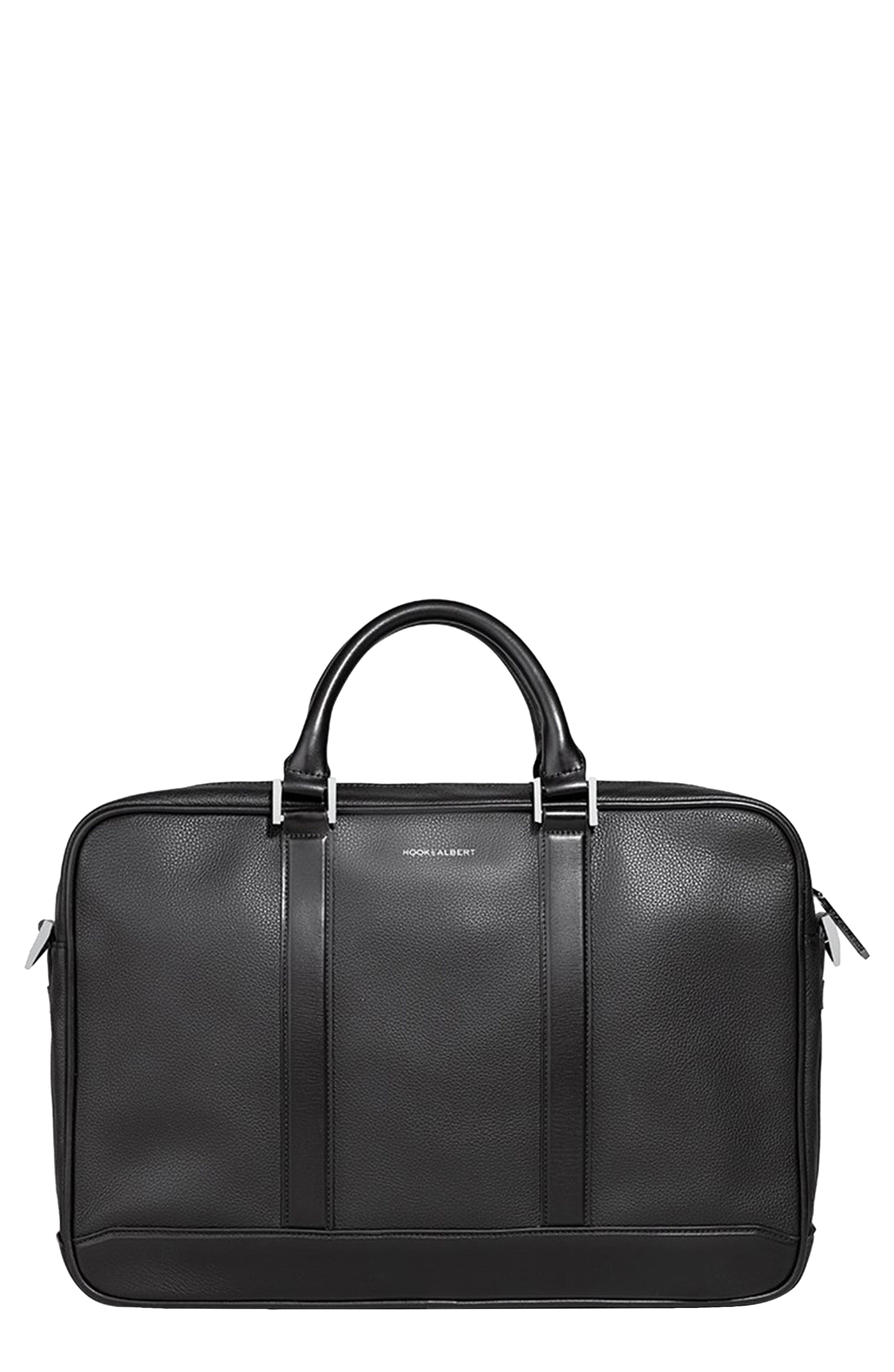 Men's Hook + Albert Leather Briefcase