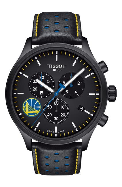 Image of Tissot Men's Chrono XL NBA Teams Special Golden State Warriors Edition, 45mm