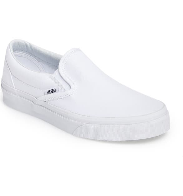 white van slip on shoes