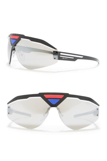 Image of Prada Sport 141mm Shield Sunglasses