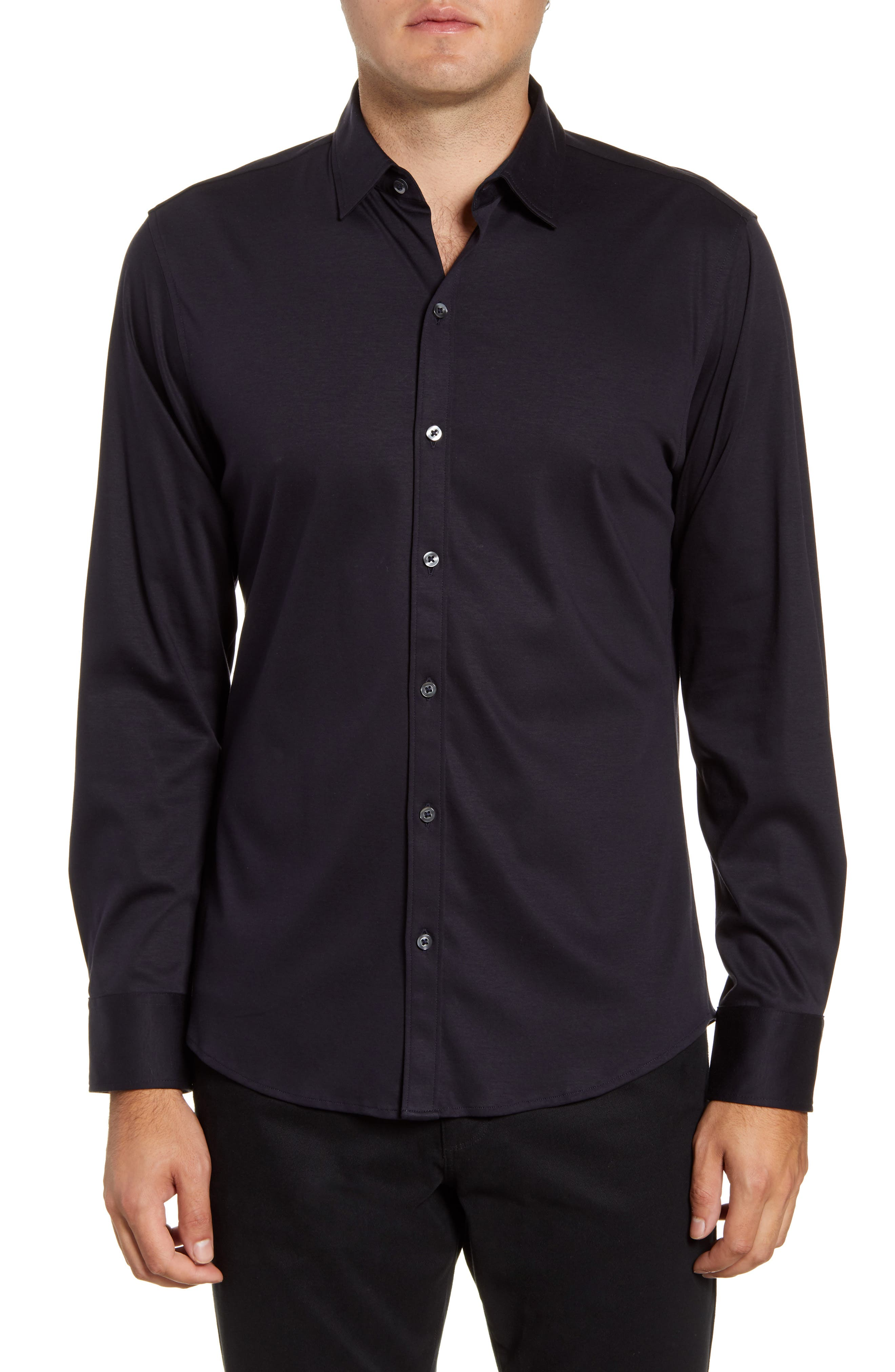 Image of Zachary Prell Lam Woven Regular Fit Shirt