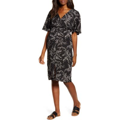 Angel Maternity Bella Maternity/nursing Dress, Black