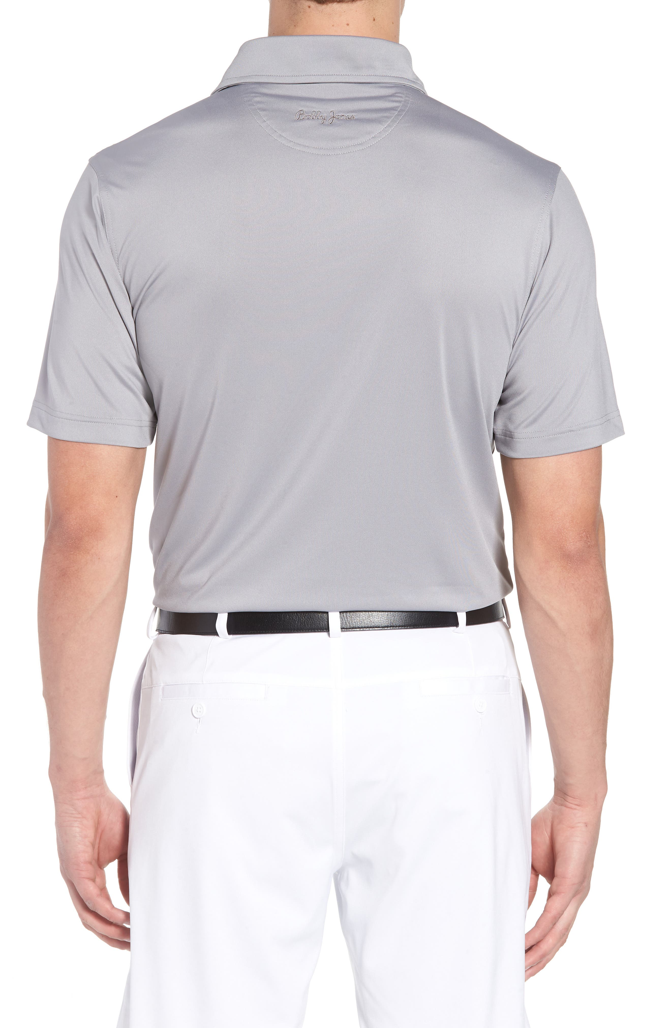 ,                             XH20 Regular Fit Stretch Golf Polo,                             Alternate thumbnail 2, color,                             GRAPHITE