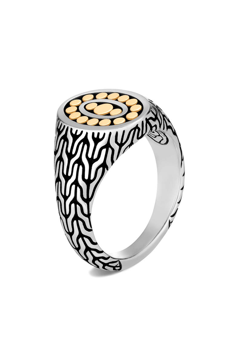 JOHN HARDY Classic Chain Link Ring, Main, color, TWO TONE