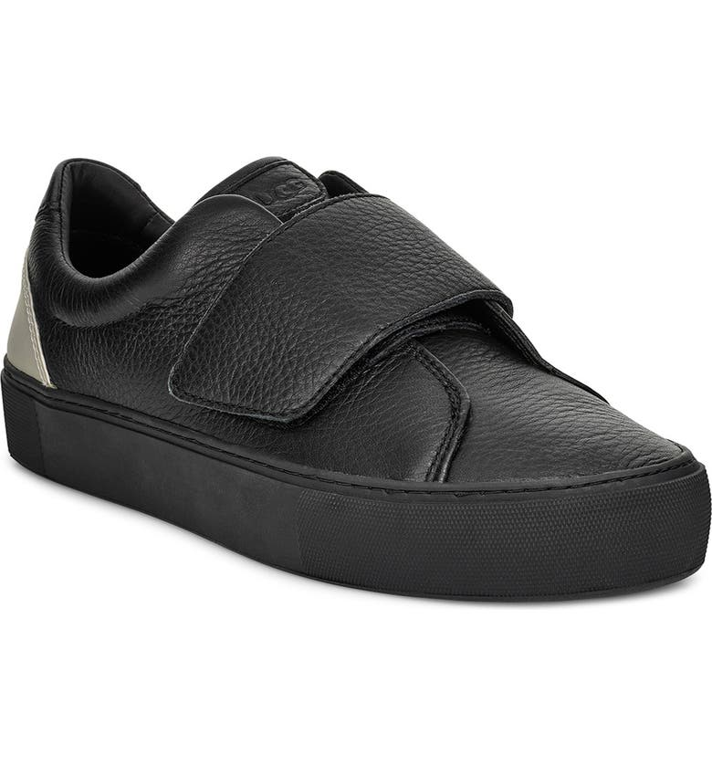 UGG<SUP>®</SUP> Neri Sneaker, Main, color, BLACK LEATHER
