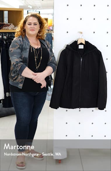 Quilted Fleece Lined Hooded Jacket, sales video thumbnail