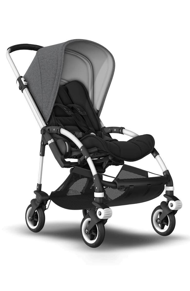 BUGABOO Bee5 Complete Stroller, Main, color, BLACK/ GREY MELANGE