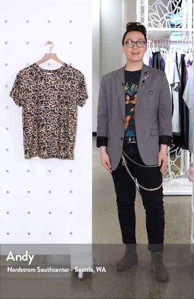Leopard Print Tee, sales video thumbnail