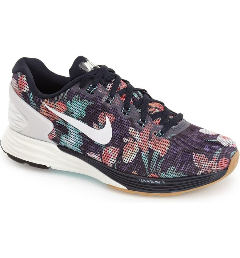 NIKE 'Lunarglide 6 - Photosynthesis' Running Shoe, Main, color, 401