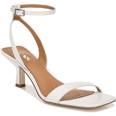 Sarto By Franco Sarto Bona Ankle Strap Sandal, White