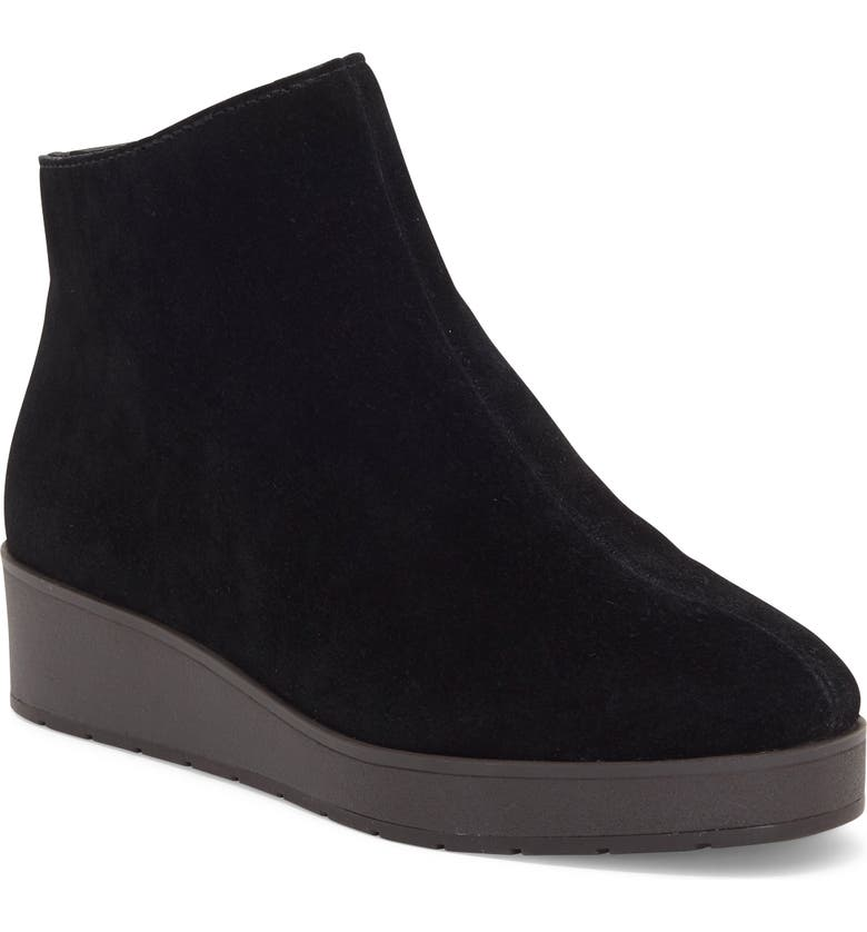 LUCKY BRAND Karmeya Bootie, Main, color, BLACK LEATHER