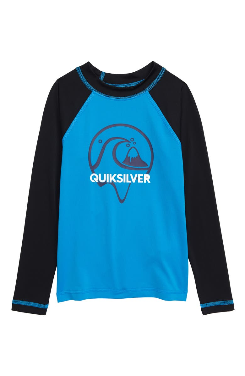 QUIKSILVER Bubble Dreams Long Sleeve Rashguard, Main, color, 422